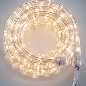 4 Sets of Clear White LED Outdoor Rope Lights New